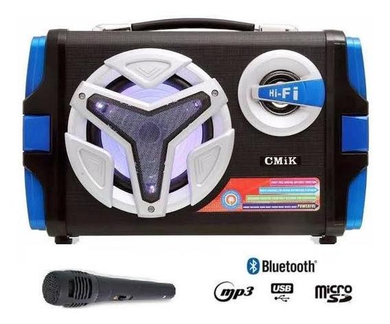 Caixa Som Cmik Mk-b80 Bluetooth
