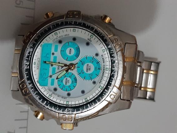 Relógio Citizen Combo C410 Funcionando Perfeitamente