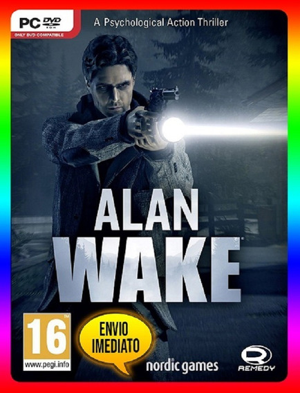 Alan Wake Pc - Steam Key (envio Já)