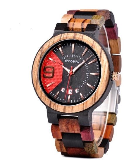 Reloj Bobo Bird Original Multicolor
