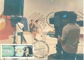 1989, Máximo Postal Não Oficial C-1635 20 Anos Da Tv Cultura