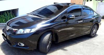 Honda Civic Exs (top Da Categoria)