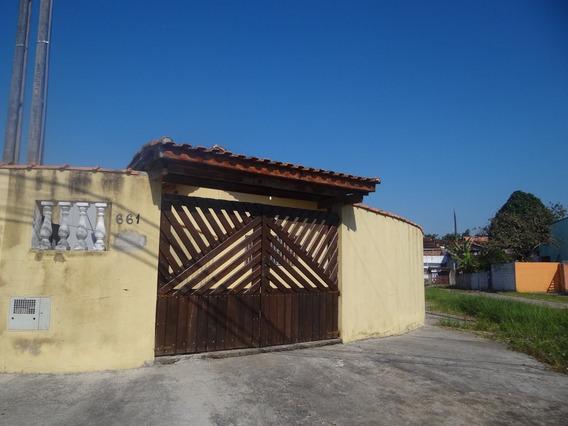 Bela Casa Em Mongaguá!!! Ref.6231 M