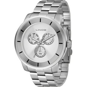 Relógio Feminino Lince Prata Lmm4478l