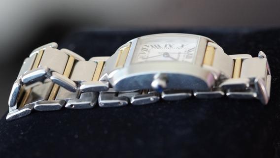 Relógio Unisex Cartier, Tank Francaise
