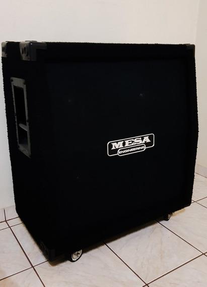 Gabinete 4x12 Hand Made Com Logo Mesa Boogie Falantes Novik!