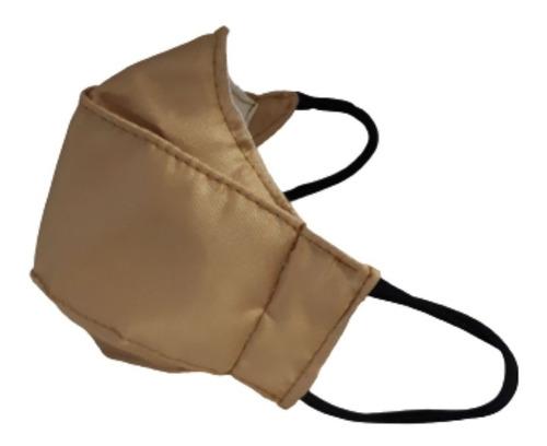 Imagem 1 de 1 de Máscaras Não Descartável De Tecido Rosto Dupla Proteção Tric
