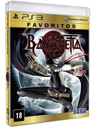 Bayonetta: Favoritos - Ps3 Mídia Física Novo Lacrado