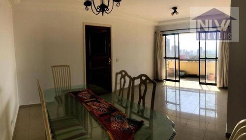Apartamento Com 3 Dormitórios Para Alugar, 100 M² Por R$ 2.000,00/mês - Vila Dom Pedro I - São Paulo/sp - Ap2897