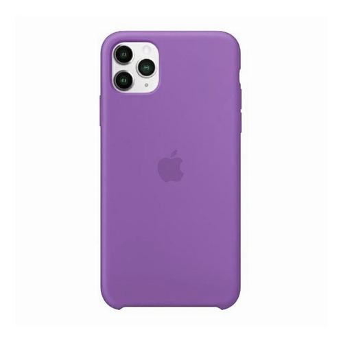 Carcasa Funda De Silicona Para iPhone 11 Pro Morado