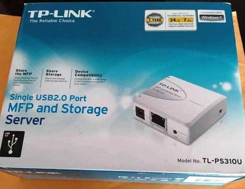Servidor De Impresión (print Server) Tp-link - Tl-ps310u