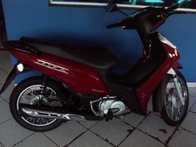 Honda Biz 110 I 2017 Vermelha C/ 4.200 Km Campinas.