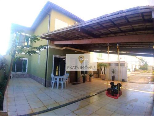 Imagem 1 de 27 de Casa Duplex 03 Quartos (não Geminada) Condomínio/amplo Quintal, Marilea/rio Das Ostras. - Ca0211