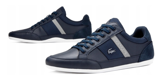 Tenis Lacoste Chaymon 318 Caballero Casual Perfil Clasico Og