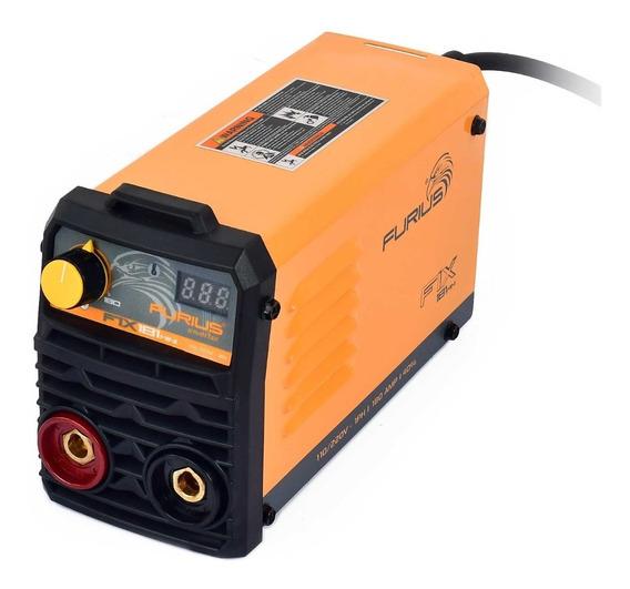 Soldadora Inversor Electrodo Furius Fix181 Mini 110/220v 180