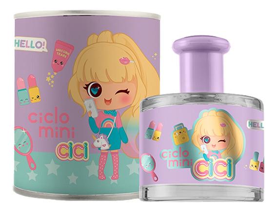 Perfume Ciclo Mini Cici Bela Charmosa E Conectada Feminino