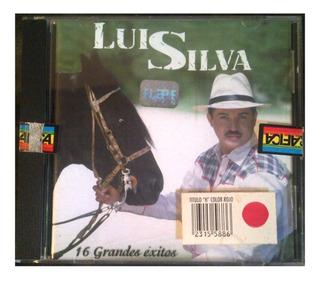 Cd - Luis Silva - 16 Grandes Exitos - Original