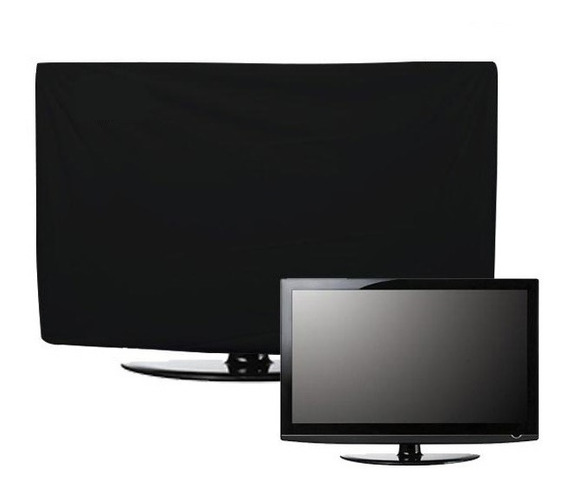 Capa Para Tv 42 43 Polegadas Led Lcd Com Abertura Traseira