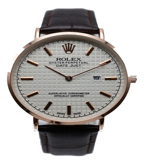 Relogio Rolex Couro Edição Limitada Frete Gratis