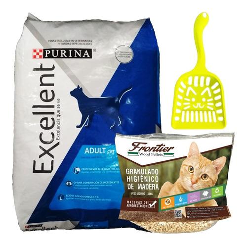 Comida De Gato Purina Excellent Cat 7,5 Kg + Regalo + Envío