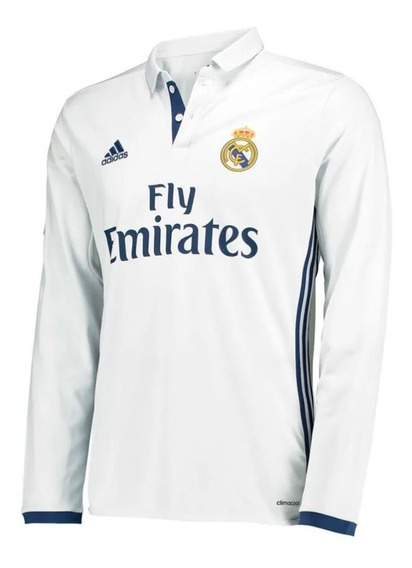 Playera Jersey adidas Ai5184 Real Madrid H Jsy Ls