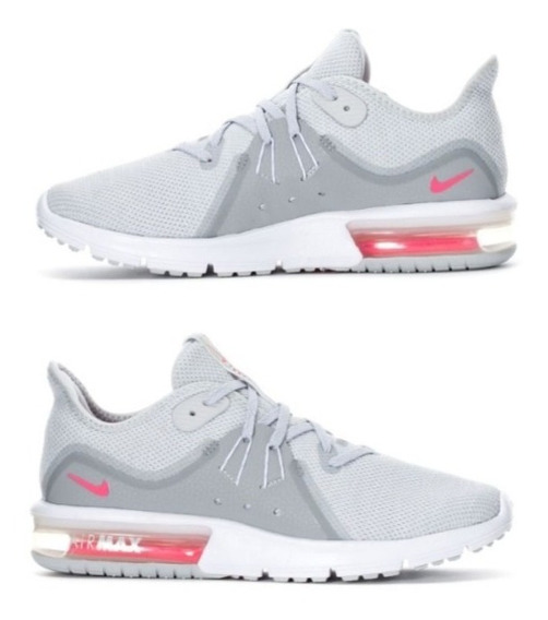 Zapatillas Nike Airmax Sequent 3 Mujer Running