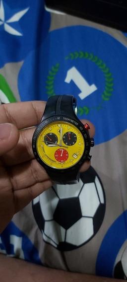 Reloj Ferrari Swiss Chronograph Movement Resistente Al Agua