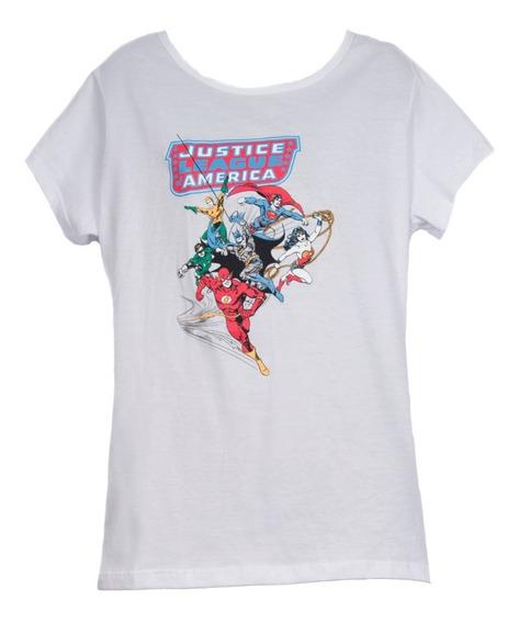 Remera, Dc, Liga De La Justicia De América Dama Accoriginals