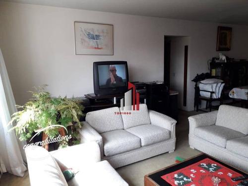 Imagem 1 de 10 de Apartamento Com 3 Dormitórios À Venda, 156 M² Por R$ 1.280.000,20 - Sumaré - São Paulo/sp - Ap0744