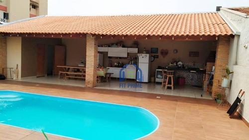 Casa Com 3 Dormitórios À Venda, 245 M² Por R$ 500.000,00 - Jardim Residencial Vetorasso - São José Do Rio Preto/sp - Ca2455