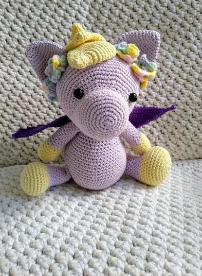 Amigurumi. Bebê Pegasus.