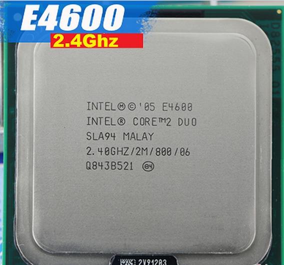 Processador Core 2 Duo E4600 2.4 Ghz 800 Mhz 2 M Chace 775