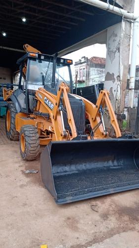 Retro Escavadeira Case 580n 2013 4x4 *perfeita* Repasse
