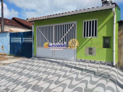 Casa Com 2 Dorms, Itaguaí, Mongaguá - R$ 230 Mil, Cod: 6936 - V6936
