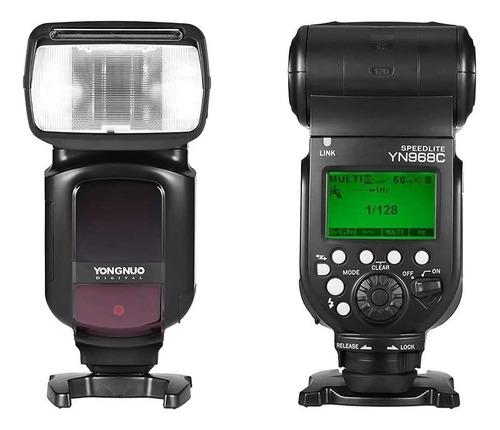 Imagem 1 de 4 de Flash Yongnuo Yn968c Ttl Yn-968 Para Canon 12x S/juros