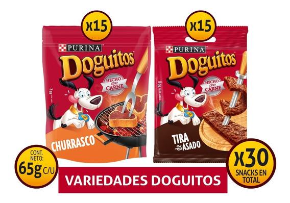 Pack Snack Para Perros Doguitos® Surtidos 65 Gr