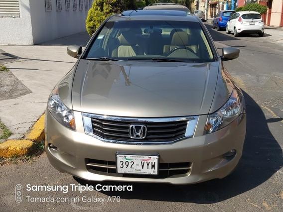Honda Accord 2.4 Ex Sedan L4 Piel Abs Cd Mt 2008