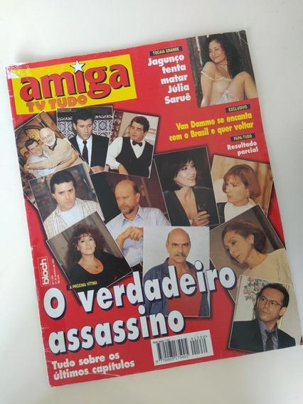 Revista Amiga 1330 Pasmanter Rosana Torloni Van Damme Vera F