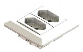 Mini Espelho Tomada Elétrica Embutir Série 200 Qtmov