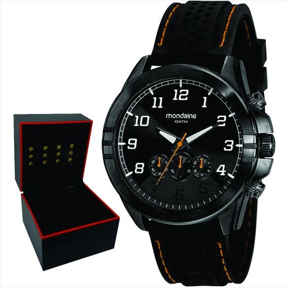 Relógio Mondaine Masculino Original Garantia Nf 32139gpmvpi2