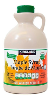 Jarabe De Maple Orgánico 1 Litro Kirkland Arce Syrup