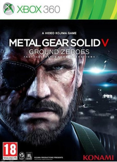 Metal Gear Solid 5 Ground Zeroes Xbox 360