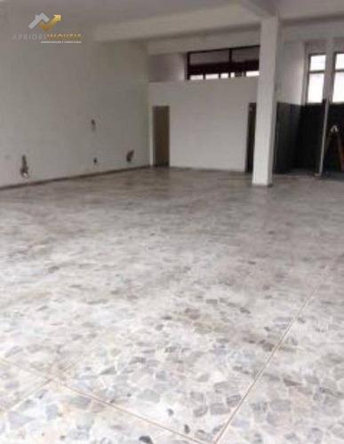 Salão Para Alugar, 230 M² Por R$ 3.900,00/mês - Centro - Santo André/sp - Sl0079