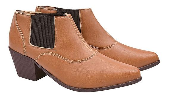Bota Coturno Sapato Feminino Chiquiteira Chiqui/3731