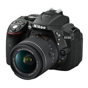Câmera Dslr Nikon D5300 (lente 18-55mm+bolsa+cartão 64gb)