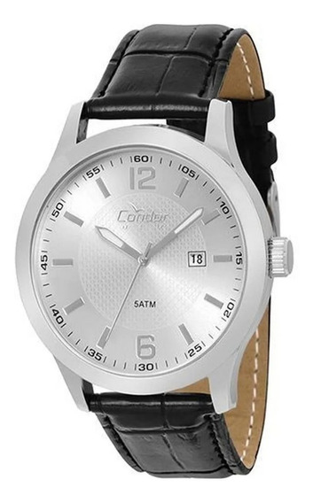 Relógio Masculino Condor Analógico Copc32al/3c Couro
