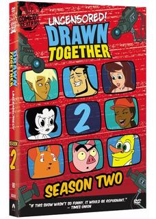 Drawn Together La Casa De Los Dibujos Sin Censura Dvd Nuevo
