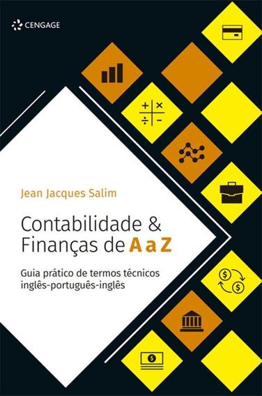 Contabilidade & Financas De A A Z - Guia Pratico De Termos