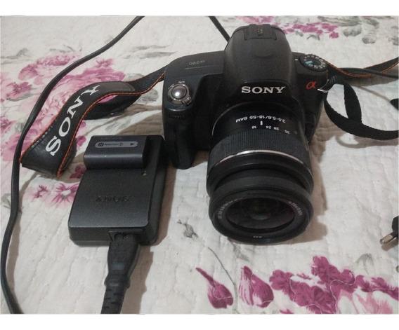 Câmera Digital Sony Alpha 290 Dslr Perfeitas Condições