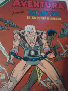 Morgan, El Gladiador, Luchando En La Arena De La Muerte .